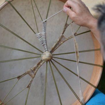 Stage de fabrication de tambour médecine