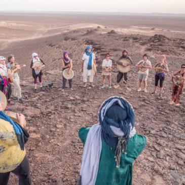 Stage Tambours et voix dans le désert marocain