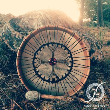 Le Tambour médecine, objet sacré